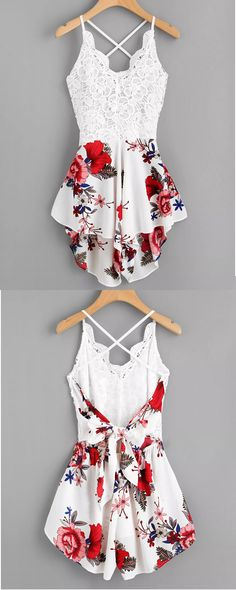 b65fd444ce82 Gorgeous floral romper - perfect for this summer! At only  11.99 (from   33.99)