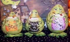 Warty Frog Gourds