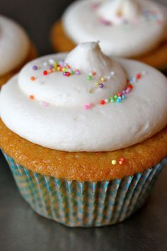 Baked Perfection: Clementine Cupcakes