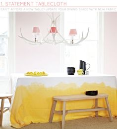 Three Ways: Adding Colour To Dining Rooms