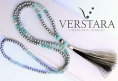 From horsehair bracelets, horsehair necklaces and stunning horsehair rings - Verstara creates everything from you OWN horse's tail to make the perfect horse hair jewelry for you. Horse Hair Bracelet, Horse Hair Jewelry, J Necklace, Beaded Tassel Necklace, Mane Hair, Horse Tail, Hair Rings, Beautiful Rings, Tassels