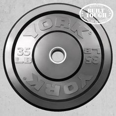 York Rubber Bumper Plates at MaxWOD Fitness