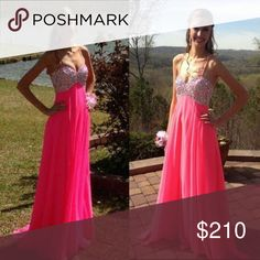 Prom Dress Size 2 taken in to a size 0.  If you are a size 2 you can take it back out! Only worn once! Dresses Prom