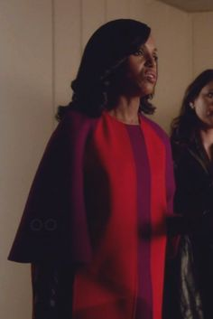 Olivia Pope wearing  Fendi Colourblock Coat