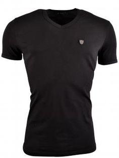 Pontto Fashion Guidolin T-Shirt  Zwart, Roberto-Romero