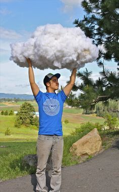 How to Make Realistic Fluffy Cloud Props from Things Around the House « Props & SFX