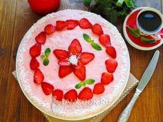 Клубничный торт «Облако»