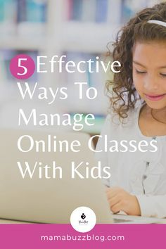 Online classes are the way to go when it comes to educating children during this pandemic. This article features the 5 Best Tips that parents can do to manage online learning classes with kids. Check out how to keep them engaged in attending online classes. #onlinelearning #onlineclassess # onlinelearningtips Kids And Parenting, Parenting Hacks, Baby Checklist, Baby Must Haves, Kids Behavior, First Time Moms, Mom And Baby, Fun Activities, Lifestyle Blog