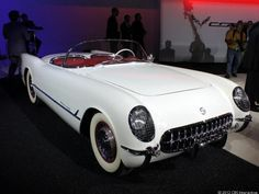 #1954 Chevrolet #Corvette #convertible