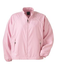 Adidas Windshirt – Buy discount Adidas climaproof ladies full zip windshirt available in 5 latest colors at Gotapparel.com.