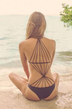 strappy monokini for summer