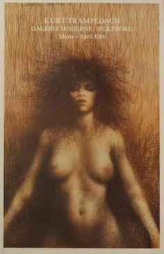 Kvinden (The Woman) by danish painter Kurt Trampedach.