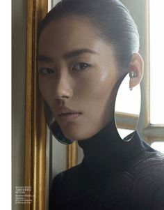 oriental tales: liu wen by karim sadli for vogue china december 2012 | visual optimism; fashion editorials, shows, campaigns & more!