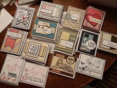 airbornewife's stamping spot: Preparing cards to send overseas