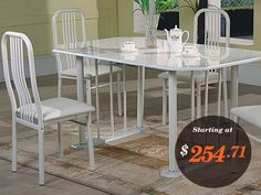 Believe it or Not! AmericanOnlineDeals is offering Almond Marble Top Dinette Set only for $254.71. Shop Now!
