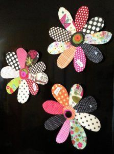 Fast and Fun Flower Magnets