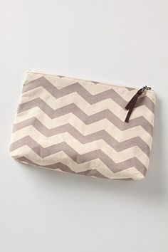 Anthro cosmetic bag