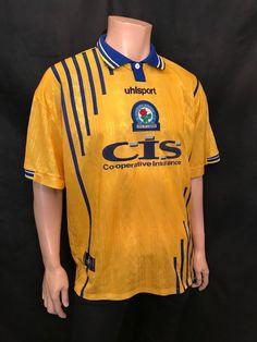 Blackburn Rovers Football Shirt, Size XL, 1998/00, UHL Sport, Great