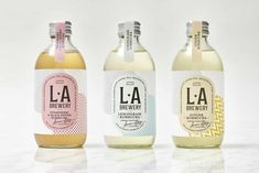 Pretty kombucha packaging #packaging #packagingdesign #brandidentity