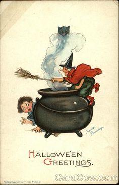 Halloween Greetings/Frances Brundage