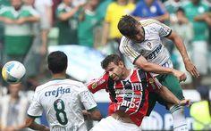 Vitor Luis e Clation Xavier - Palmeiras 1x0 Botafogo/SP - Allianz Parque - Campeonato Paulista 12/04/2015