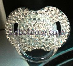 LilBoBling on Etsy - bling pacifier