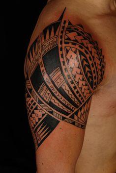 Hawaiian Tribal Chest Tattoo Design Wallpaper - http://tattooideastrend.com/hawaiian-tribal-chest-tattoo-design-wallpaper/ - #Design, #Tattoo, #Wallpaper