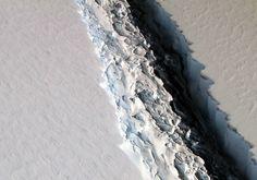 Rift in Antarctica's...
