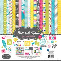 Echo Park Paper Here & Now www.papercrafts.ch