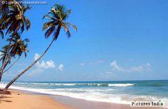 Colva beach at Goa