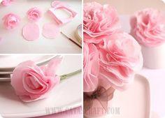 7 Pretty DIY Paper Flowers and Easy Tutorials on DagmarBleasdale.com