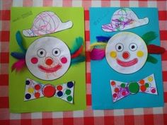 Discover design inspiration from a variety of living rooms Kids Crafts, Clown Crafts, Carnival Crafts, Diy And Crafts, Arts And Crafts, Carnival Rides, Worksheets For Kids, Mardi Gras, Kids Rugs