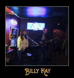 Billy Kay and the talented Donna Fowler perform in Manchester, WA