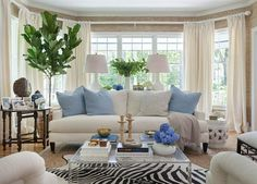 Chic Southern Abode-Blue & White in Home Décor - Furniture in Knoxville - Braden's Lifestyles Furniture - Home Interiors