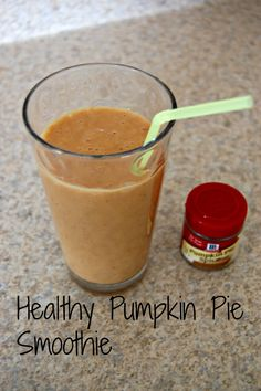 Yours, Mine & Ours: Healthy Pumpkin Pie Smoothie