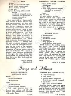22 Vintage Delicious Desserts Recipes from 1952