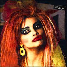 Nina Hagen, Bo Derek, Punk, Dark Gothic, Independent Women, Cybergoth, Goth Girls, Halloween Face Makeup, Voodoo