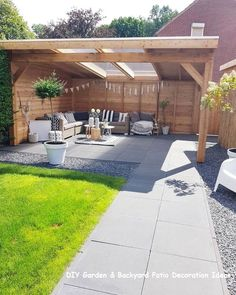 The pergola you choose will probably set the tone for your outdoor living space, so you will want to choose a pergola that matches your personal style as closely as possible. The style and design of your PerGola are based on personal Small Yard Landscaping, Backyard Ideas For Small Yards, Backyard Garden Landscape, Small Backyard Design, Backyard Patio Designs, Small Backyard Landscaping, Small Patio, Landscaping Ideas, Balcony Garden