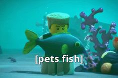 ninjago gifs - Google Search>>.For my sister, who wishes she could pet her fishes.