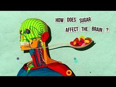 """""""Ever wonder exactly what it is that happens to your brain when your eat sugar? If not a little scary, as this TED-ed video explains."""" -Organic Authority pass on… """"How sugar affects the brain - Nicole Avena"""" Health Class, Health Lessons, Brain Health, Mental Health, Health Unit, School Health, Nutrition Education, Health And Nutrition, Health And Wellness"""