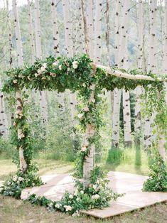 Matt Duchene's Colorado Wedding in the Woods | Brides