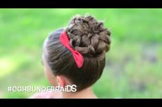 Easiest hairstyle to do with a  Bun maker