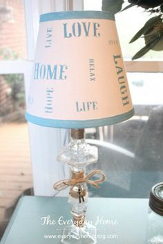 Creating a Glass Lamp Base With $1 Candlesticks