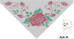 Косынки | biser.info - всё о бисере и бисерном творчестве