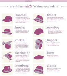 True Blue Me & You: DIYs for Creatives • DIY UltimateKnow Hats Guide Infographic from...