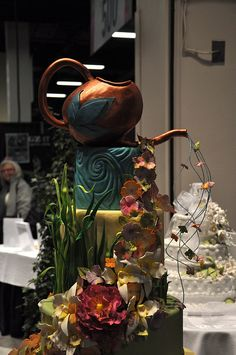 Whimsical Cake at the Flower Show | Flickr - Photo Sharing!