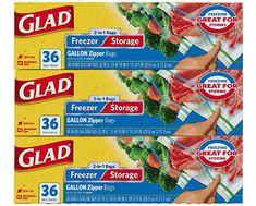 Glad Food Storage Bags Giveaway