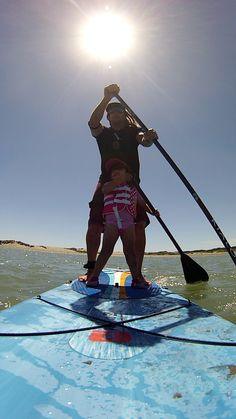A future SUP champ in the making