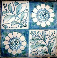 William Morris & Co. decorative tile, 1861-1880 - Birmingham Museum