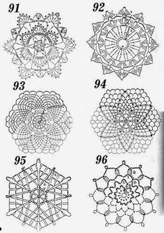 Crochet: motifs